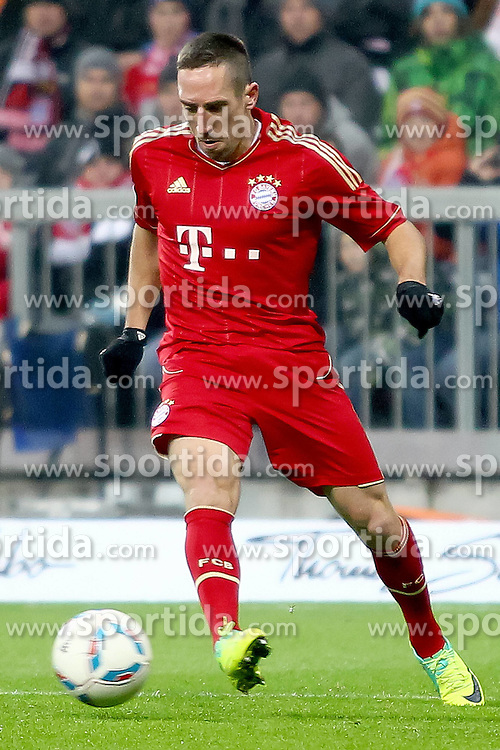 19.11.2011, Allianz Arena, Muenchen, GER, 1.FBL, FC Bayern Muenchen vs Borussia Dortmund, im Bild Franck Ribery (Bayern #7) // during the match FC Bayern Muenchen vs  Borussia Dortmund, on 2011/11/19, Allianz Arena, Munich, Germany. EXPA Pictures © 2011, PhotoCredit: EXPA/ nph/ Straubmeier..***** ATTENTION - OUT OF GER, CRO *****