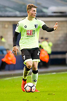 Football - 2016 / 2017 FA Cup - Third Round: Millwall vs. AFC Bournemouth<br /> <br /> Jordan Lee of Bournemouth on the ball , at The Den.<br /> <br /> COLORSPORT/WINSTON BYNORTH