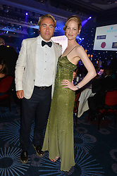 JOHAN ERNST NILSON and DEIDRE SORENSEN at The Butterfly Ball in aid of Caudwell Children held at the Grosvenor House, Park Lane, London on 25th June 2015