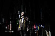 Napoli, Italia - febbraio 2015. Lo storico sarto napoletano Vincenzo Canzanella ritratto nel suo atelier a Napoli. Canzanella &egrave; famoso in tutto il mondo per i suoi costumi teatrali. Le sue creazioni sono state indossate da Maria Callas, Sofia Loren, Claudia Cardinale, Eduardo De Filippo, Ingrid Bergman. Da qualche anno la storica sartoria &egrave; in crisi. A napoli, citt&agrave; di grandi teatri come il San Carlo, non &quot;si produce pi&ugrave; niente&quot; afferma Canzanella. L'atelier &egrave; stato da qualche mese spostato dal quartiere Pallonetto a Piazza Mercato in modo da poter affrontare costi di affitto pi&ugrave; contenuti. Vincenzo Canzanella &egrave; un esempio lampante di eccellenza artigianale italiana che troppo facilemte e finita nel dimenticatoiio.<br /> Ph. Roberto Salomone