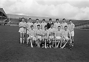 02/04/1967<br /> 04/02/1967<br /> 2 April 1967<br /> National Hurling League Semi-Final: Antrim v Kerry at Croke Park, Dublin.<br /> The Antrim team.