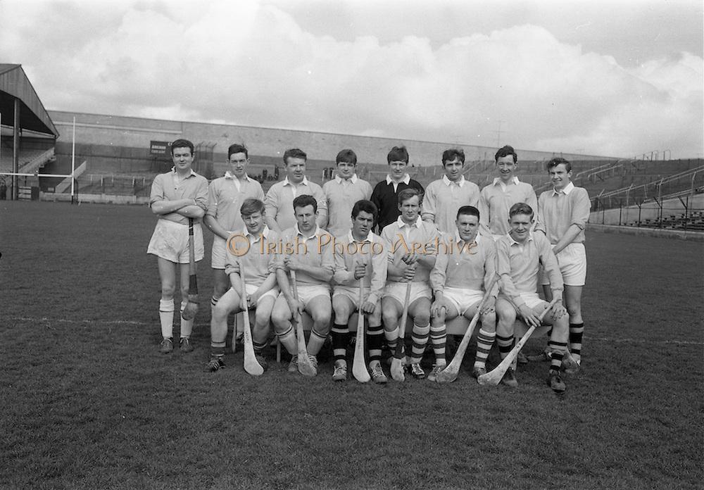 02/04/1967<br /> 04/02/1967<br /> 2 April 1967<br /> National Hurling League Semi-Final: Antrim v Kerry at Croke Park, Dublin.<br /> The Antrim team.