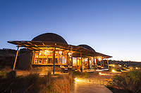 Gondwana Game lodge at dusk, Gondwana Game Reserve, Western Province, South Africa