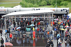 15.05.2011, Red Bull Ring, Spielberg, AUT, RED BULL RING, SPIELBERG, EROEFFNUNG, im Bild ein Feature mit zahlreichen Zusehern // during the official Opening for the Red Bull Circuit in Spielberg, Austria, 2011/05/15, EXPA Pictures © 2011, PhotoCredit: EXPA/ S. Zangrando