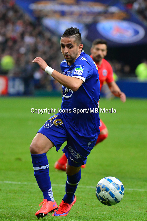 Ryad BOUDEBOUZ    - 11.04.2015 -  Bastia / PSG - Finale de la Coupe de la Ligue 2015<br />