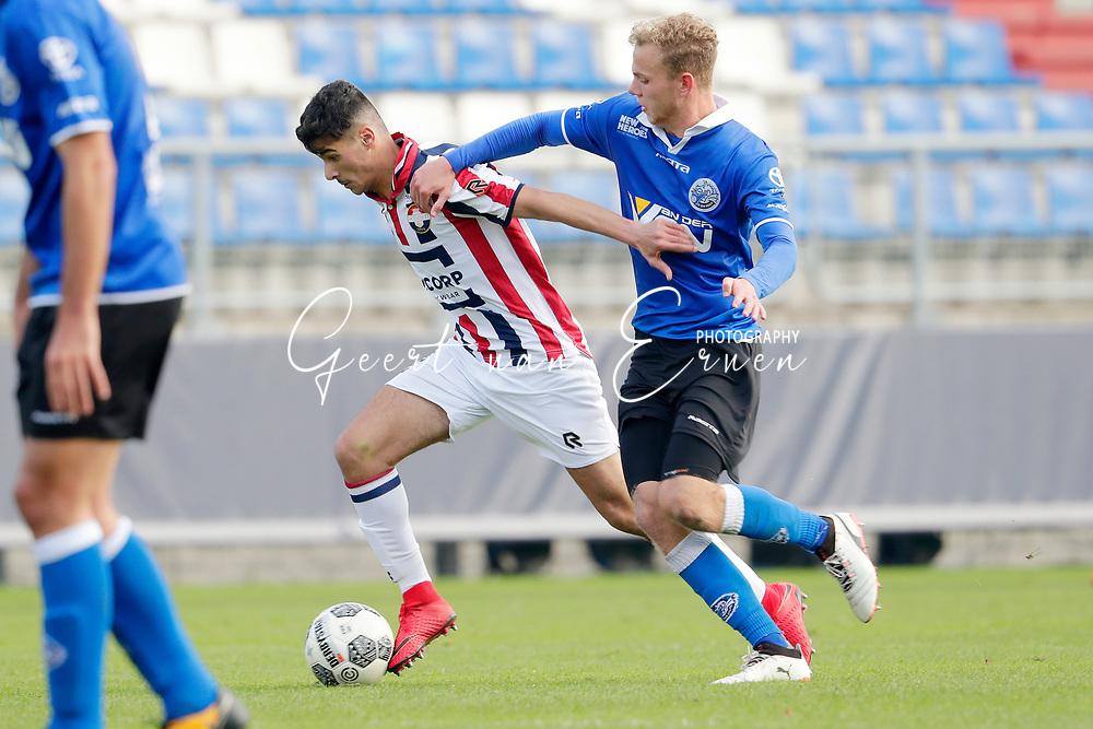 *Mo El Hankouri* of Willem II, *Luuk Brouwers* of FC Den Bosch