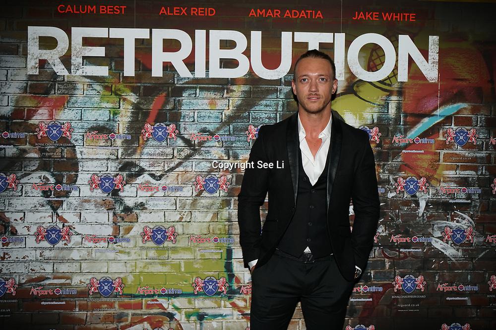 London,England,UK. 5th September 2017. Hosts of celebrities attend the Retribution Film Premiere at Empire Haymarket.