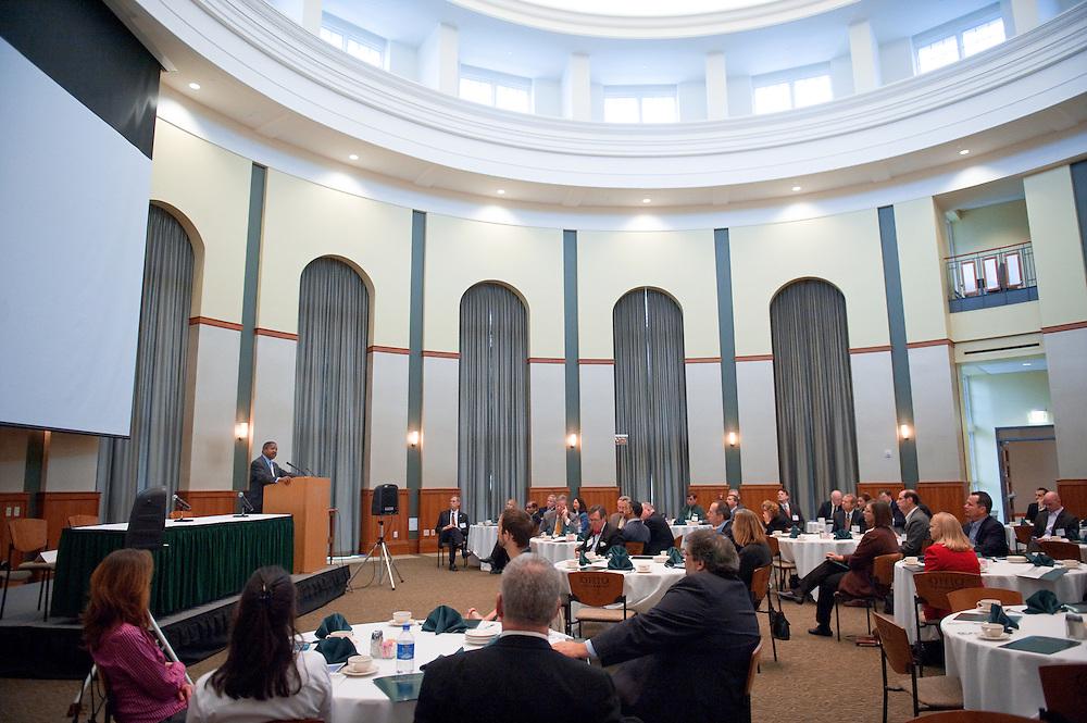 2nd Annual Bio Venture Showcase December 10th Walter Hall Rotunda, Ohio University... Dr. McDavis