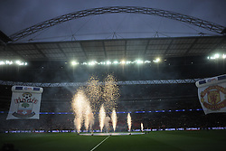 OPENING START EFL Cup Final, Manchester United v Southampton FC, Wembley Stadium Sunday 26th February 2017