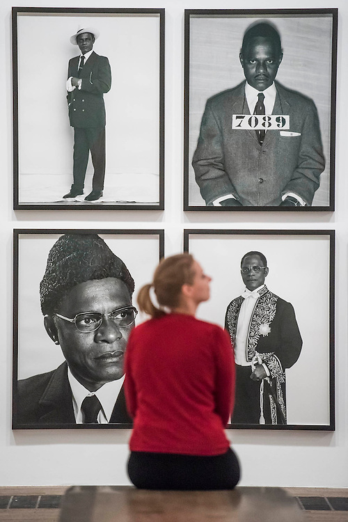 Samual Fosso, African Spirits - Tate Modern's new photography show, Performing for the Camera. The exhibition examines the relationship between photography and performance, from the invention of photography in the 19th century to the selfie culture of today, bringing together over 500 images spanning 150 years. Highlights include: artist Romain Mader and his series Ekaterina, which follows Romain's fictitious search for a bride in Eastern Europe; Amalia Ulman's social media sensation Excellences and Perfections performed over a four month period on Instagram; and a wall of artist-designed advertising posters by the likes of Jeff Koons, Andy Warhol and Joseph Beuys. Performing for the Camera is at Tate Modern from 18 February – 12 June 2016.