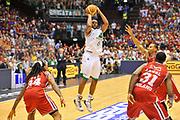DESCRIZIONE : Campionato 2013/14 Finale GARA 7 Olimpia EA7 Emporio Armani Milano - Montepaschi Mens Sana Siena Scudetto<br /> GIOCATORE : Marquez Haynes<br /> CATEGORIA : Tiro tre punti<br /> SQUADRA : Montepaschi Siena<br /> EVENTO : LegaBasket Serie A Beko Playoff 2013/2014<br /> GARA : Olimpia EA7 Emporio Armani Milano - Montepaschi Mens Sana Siena<br /> DATA : 27/06/2014<br /> SPORT : Pallacanestro <br /> AUTORE : Agenzia Ciamillo-Castoria / Luigi Canu<br /> Galleria : LegaBasket Serie A Beko Playoff 2013/2014<br /> Fotonotizia : DESCRIZIONE : Campionato 2013/14 Finale GARA 7 Olimpia EA7 Emporio Armani Milano - Montepaschi Mens Sana Siena<br /> Predefinita :