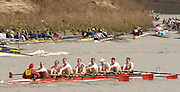 Chiswick, LONDON, ENGLAND, 25.03.2006, 2006 Head of the River Race. Kingston I. Mortlake to Putney. © Peter Spurrier/Intersport-images.com. 2006 Men's Head of the River Race, Rowing Course: River Thames, Championship course, Putney to Mortlake 4.25 Miles 2006 Men's Head of the River Race, Rowing Course: River Thames, Championship course, Putney to Mortlake 4.25 Miles