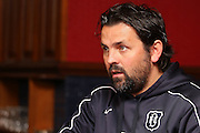 Dundee manager Paul Hartley - Dundee presser<br /> <br />  - &copy; David Young - www.davidyoungphoto.co.uk - email: davidyoungphoto@gmail.com