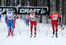30.12.2011, DKB-Ski-ARENA, Oberhof, GER, Viessmann FIS Tour de Ski 2011, Pursuit/ Verfolgung Damen im Bild Aino-Kaisa Saarinen (FIN), Therese Johaug (NOR) und Justyna Kowalczyk (POL) . // during of Viessmann FIS Tour de Ski 2011, in Oberhof, GERMANY, 2011/12/30 .. EXPA Pictures © 2011, PhotoCredit: EXPA/ nph/ Hessland..***** ATTENTION - OUT OF GER, CRO *****