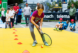 Igrajmo tenis, Teniska olimpijada 2019, on May 19, 2019, in BTC, Ljubljana, Slovenia. Photo by Vid Ponikvar / Sportida