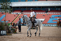 Wathelet Gregory, BEL, Coree<br /> Official Training Jumping<br /> FEI European Para Dressage Championships - Goteborg 2017 <br /> © Hippo Foto - Dirk Caremans<br /> 22/08/2017,
