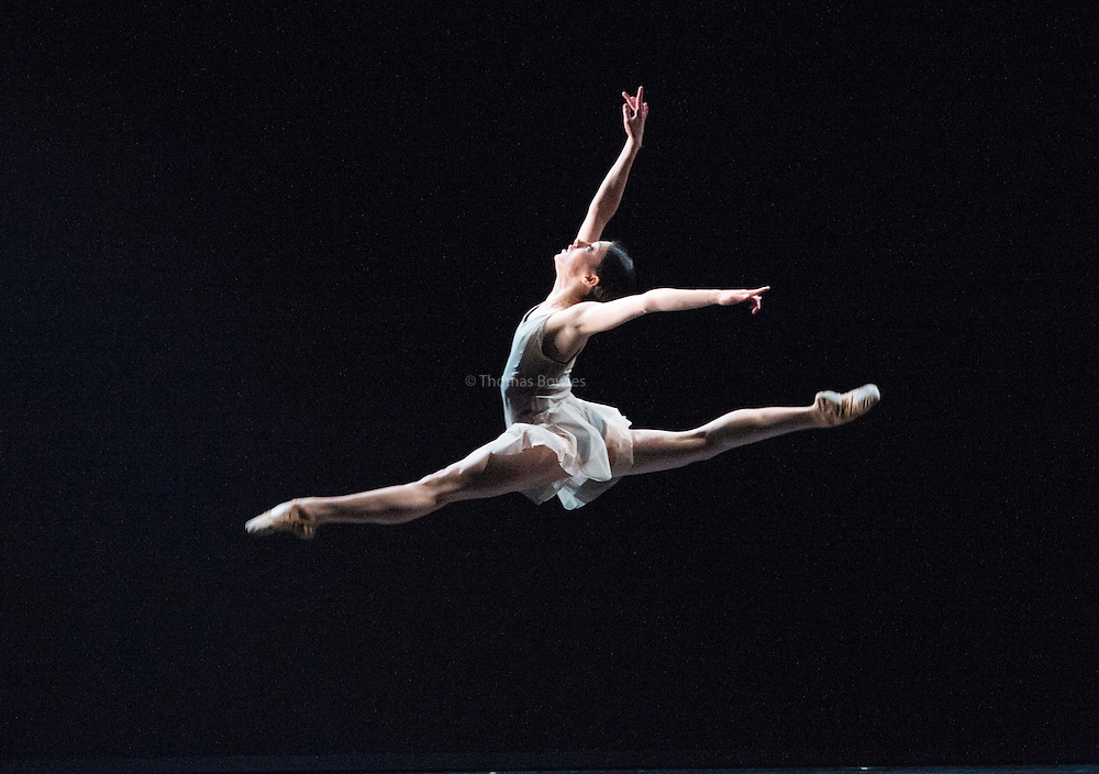 LONDON, UK, 09 November 2016. New English Ballet Theatre presents &quot;Quint-Essential: Five New Ballets&quot;, at the Peacock Theatre, commissioned to celebrate NEBT's 5th anniversary. The choreographers : Daniela Cardim, Kristin McNally, Marcelino Sambe, George Williamson and Valentino Zucchetti. <br /> <br />  The dancers are: <br /> Hannah Sofo, Riccardo Rodighiero, Pablo Luque Romero, Alexandra Cameron-Martin, Bethany Headland, Isabella Swietlicki, Giulio Galimberti, Alexander Nuttall.