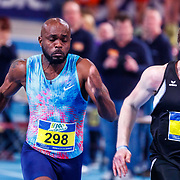NLD/Apeldoorn/20180217 - NK Indoor Athletiek 2018, 60 meter heren, Churandy Martina en Roelf Bouwmeester