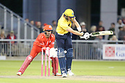 Adam Hose of the Birmingham Bears during the Vitality T20 Blast North Group match between Lancashire Lightning and Birmingham Bears at the Emirates, Old Trafford, Manchester, United Kingdom on 10 August 2018.