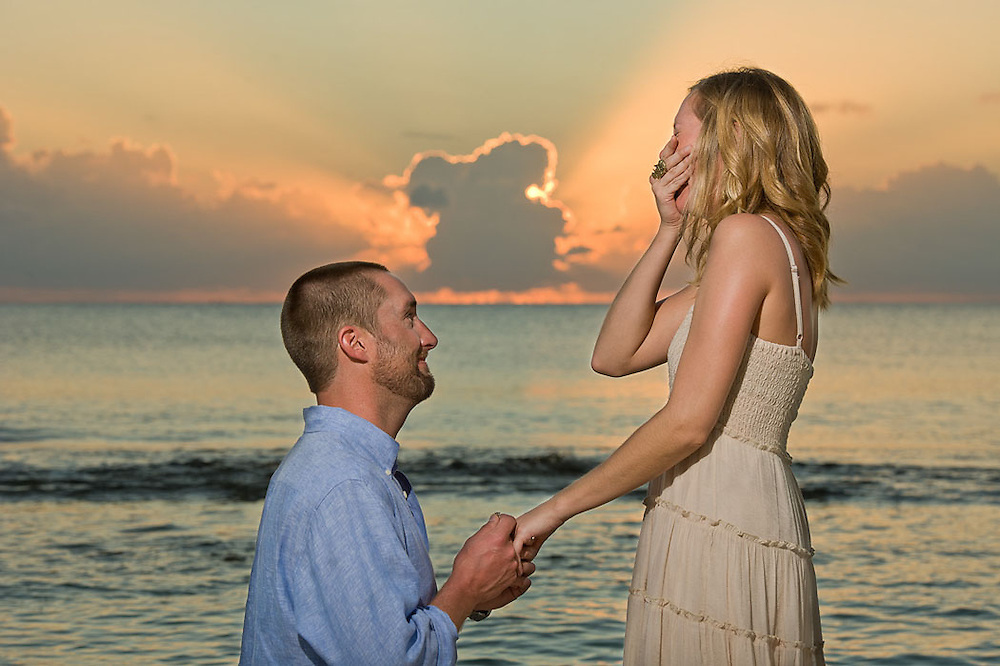 Engagement proposal Grand Cayman, Cayman Islands by photographer Courtney Platt