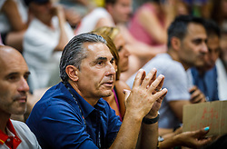 Sergio Scariolo during basketball match between National teams of Turkey and Slovenia in the SemiFinal of FIBA U18 European Championship 2019, on August 3, 2019 in Nea Ionia Hall, Volos, Greece. Photo by Vid Ponikvar / Sportida