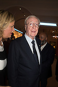 SIR MICHAEL CAINE, The Neo Romantic Art Gala in aid of the NSPCC. Masterpiece. Chelsea. London.  30 June 2015