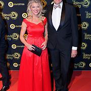 NLD/Amsterdam/20181011 - Televizier Gala 2018, Sandra Ysbrandy en partner Peter