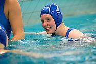 07-05-2014 : WATERPOLO : ZVL - GZC DONK : LEIDEN<br /> <br /> Mieke Cabout van GZC Donk<br /> Play-offs Eredivisie Dames - Seizoen 2013/2014<br /> <br /> Foto: Gertjan Kooij