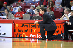 11 November 2007: Coach Tim Jankovich.  Illinois State Redbirds defeated the Missouri - St. Louis Tritons 70-37 in an early season game on Doug Collins Court in Redbird Arena on the campus of Illinois State University in Normal Illinois.
