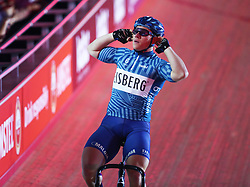 October 26, 2017 - London, England, United Kingdom - Matthew Rotherham  (GBR)..compete in the 200m Flying Time Trial during day three of the London Six Day Race at the  Lee Valley Velopark Velodrome on October 26, 2017 in London, England. (Credit Image: © Kieran Galvin/NurPhoto via ZUMA Press)