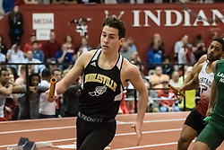 4x400 R during Hoosier State Relays, on 03, 25, 2017 Bryce Gatewood