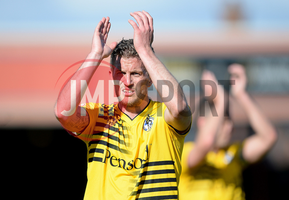 Lee Mansell of Bristol Rovers  - Mandatory by-line: Alex James/JMP - 30/04/2016 - FOOTBALL - Bootham Crescent - York, England - York City v Bristol Rovers - Sky Bet League Two