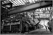 Pouring Molten Aluminium, Tomago Aluminium, NSW, Australia
