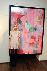 Artist TAHNEE LONSDALE at an exhibition of her work held at The Commander, 47 Hereford Road, London on 8th October 2008.
