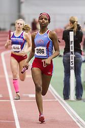 Boston University Multi-team indoor track & field, women 4x400 meter relay, heat 1, Delaware State
