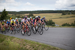 Cecile Ultrup Ludwig (DEN) of BMS Birn Team rides at the front during the 97,1 km second stage of the 2016 Ladies' Tour of Norway women's road cycling race on August 13, 2016 between Mysen and Sarpsborg, Norway. (Photo by Balint Hamvas/Velofocus)