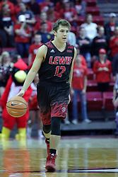 05 November 2017:  Adam Pischke during aLewis College Flyers and Illinois State Redbirds in Redbird Arena, Normal IL
