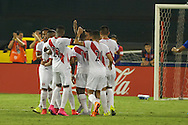 The United States Men's National Team came from behind to defeat Peru 2-1 at RFK Stadium in Washington DC in an international friendly match in from of over 30,000 soccer fans.