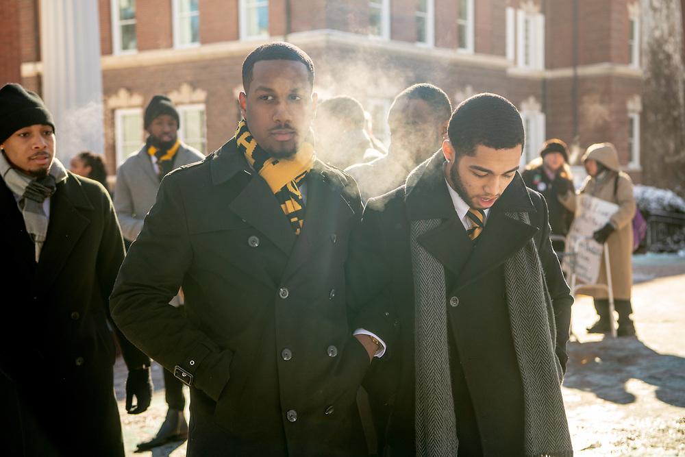 MLK Silent March and Brunch. Photo by Ben Siegel