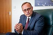 Pan Eduard Palíšek, Country CEO Siemens Czech Republic. Praha, Stodůlky, 23.08.2016.