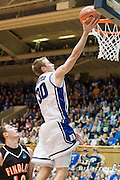 3 November 2009: Dukes #30 John Scheyer goes in fro a lay up..The Duke Blue Devils defeat the Findlay Oilers 84 -48 in an exhibition game. Kyle Singler had 20 points as Duke wraps up it's pre-season.. Mandatory Credit:Mark Abbott / Southcreek Global