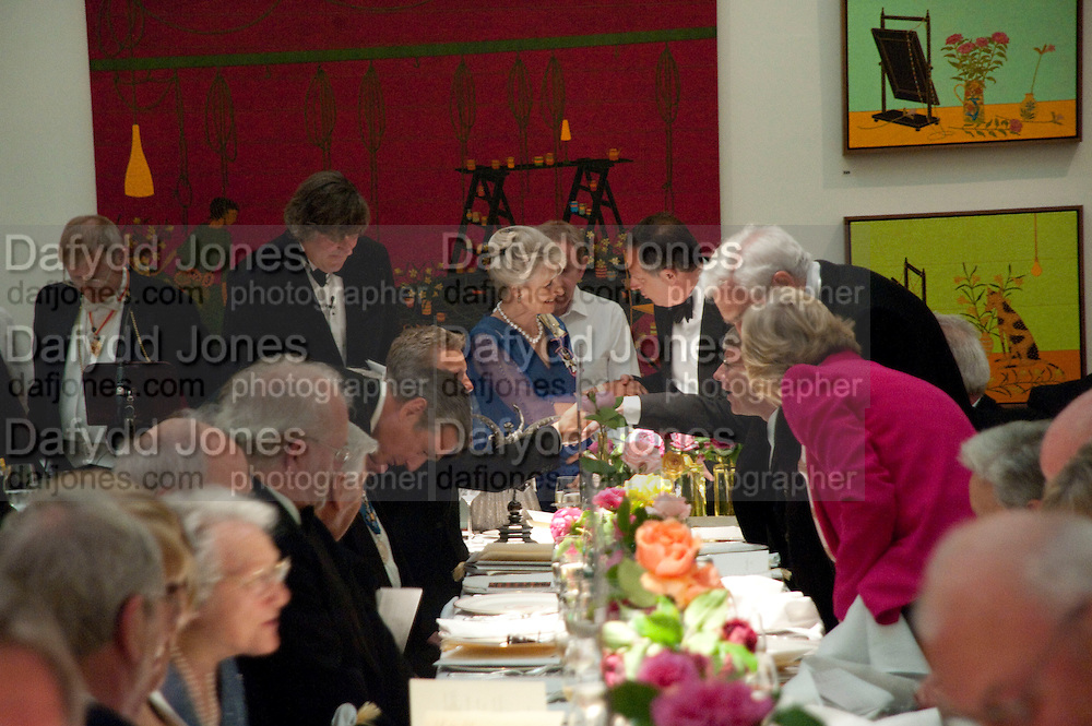 THE DUCHESS OF GLOUCESTER; Annual Dinner. Royal Academy of Arts. Piccadilly. London. 8 June 2010. -DO NOT ARCHIVE-© Copyright Photograph by Dafydd Jones. 248 Clapham Rd. London SW9 0PZ. Tel 0207 820 0771. www.dafjones.com.