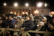 ROME. FAITHFUL IN SAN PETER SQUARE WAIT FOR THE ELECTION OF NEW POPE; ROMA. FEDELI IN PIAZZA SAN PIETRO ATTENDO L'ELEZIONE DEL NUOVO PAPA;