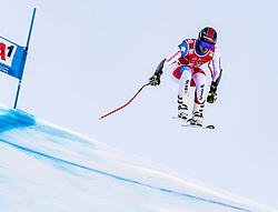 24.01.2020, Streif, Kitzbühel, AUT, FIS Weltcup Ski Alpin, SuperG, Herren, im Bild Gilles Roulin (SUI) // Gilles Roulin of Switzerland in action during his run for the men's SuperG of FIS Ski Alpine World Cup at the Streif in Kitzbühel, Austria on 2020/01/24. EXPA Pictures © 2020, PhotoCredit: EXPA/ Stefan Adelsberger