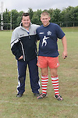 Bath and Bristol Rugby Camp at Winchester Army Base 2006. Pics with bristol Academy Manager