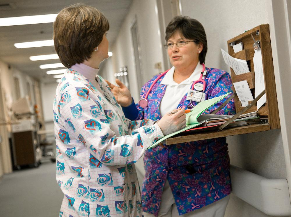 GOT Sp 08 - Radiation Oncology Nursing article..Marie Getz RN and Lisa Blevins RN ..Patient Lawrence Ellis