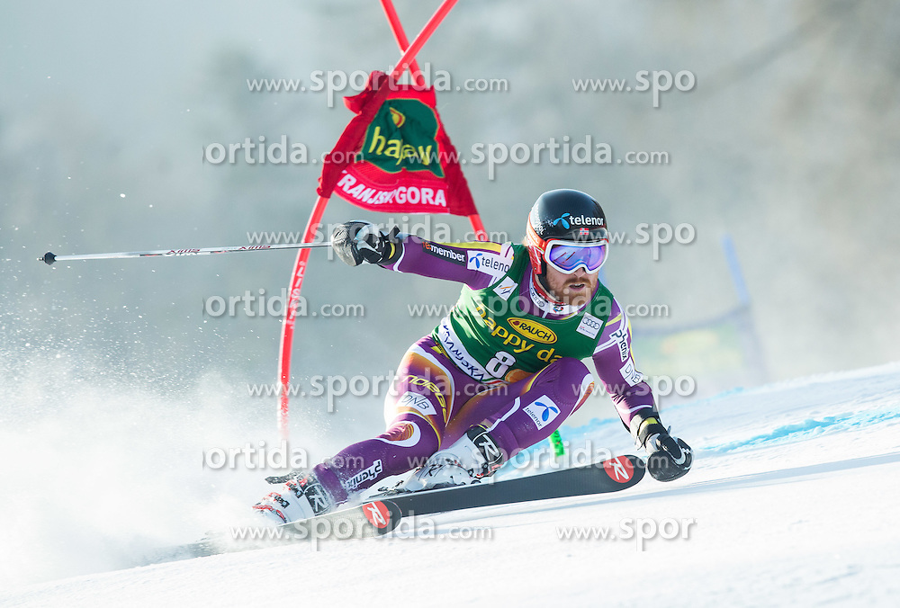 HAUGEN Leif Kristian of Norway competes during Men Giant Slalom race of FIS Alpine Ski World Cup 54th Vitranc Cup 2015, on March 14, 2015 in Kranjska Gora, Slovenia. Photo by Vid Ponikvar / Sportida