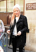 09.AUGUST.2012. LONDON<br /> <br /> ELLIE GOULDING LEAVING THE BBC RADIO ONE STUDIO IN LONDON. <br /> <br /> BYLINE: EDBIMAGEARCHIVE.CO.UK<br /> <br /> *THIS IMAGE IS STRICTLY FOR UK NEWSPAPERS AND MAGAZINES ONLY*<br /> *FOR WORLD WIDE SALES AND WEB USE PLEASE CONTACT EDBIMAGEARCHIVE - 0208 954 5968*  *** Local Caption ***