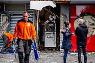 Woningen ontruimd na plofkraak in Spijkenisse