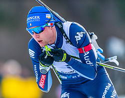 16.01.2020, Chiemgau Arena, Ruhpolding, GER, IBU Weltcup Biathlon, Sprint, Herren, im Bild Lukas Hofer (ITA) // Lukas Hofer of Italy during the men's sprint competition of BMW IBU Biathlon World Cup at the Chiemgau Arena in Ruhpolding, Germany on 2020/01/16. EXPA Pictures © 2020, PhotoCredit: EXPA/ Stefan Adelsberger
